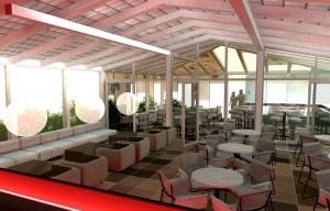 Кафе «В2» в Трогир