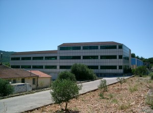 Produktions- und geschäftskomplex im ort Blato auf der insel Korčula