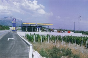 "Gasstation ""Z"" in Kaštela"