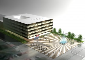 Redesign of business building Kraš in Zagreb