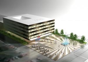 Редизайн здание бизнес Крас в Загребе