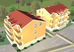 """Residential buildings """"N"""" in Srima"""