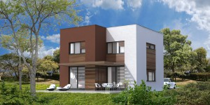"Low-energy House ""VW125"""